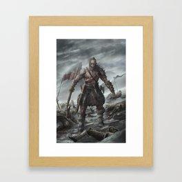 Skoljorn - The Berzerker Framed Art Print
