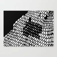 honeycomb Canvas Prints featuring Honeycomb by Felipe B. C. Gama