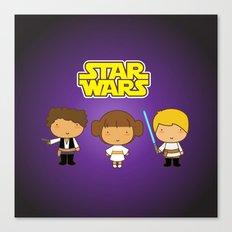 Star Wars Trio Canvas Print