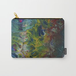 Mermaid and Sea Dog Carry-All Pouch