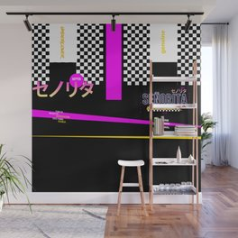 Graphic Over Tee ONLY Retro Japanese Wall Mural