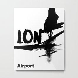 LON Metal Print