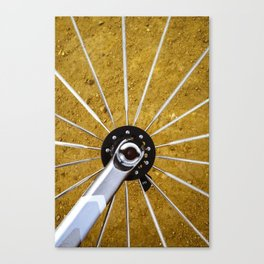 Bike Wheel Canvas Print