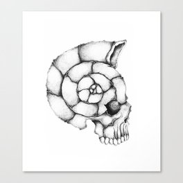 sea skull Canvas Print