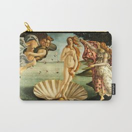 Sandro Botticelli The Birth Of Venus Carry-All Pouch