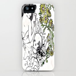 Flowers Figure iPhone Case