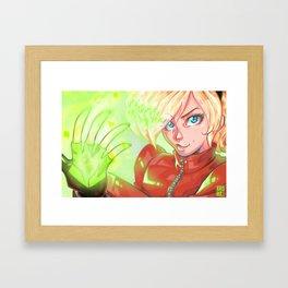 Ash Crimson Framed Art Print