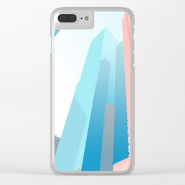 HONG KONG URBANSCAPE S1 Clear iPhone Case