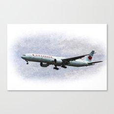 Air Canada Boeing 777 Art Canvas Print