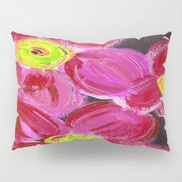 Fuchsia Floral Pillow Sham