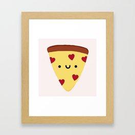 Pizza My Heart Framed Art Print