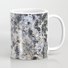 Nature lover's abstract art - Lichen on granite Coffee Mug