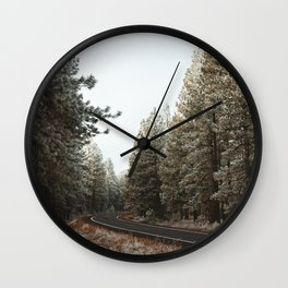 Wisp around the Trees Wall Clock