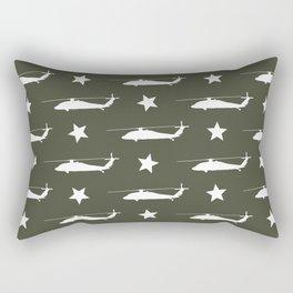 UH-60 Black Hawk Pattern Rectangular Pillow