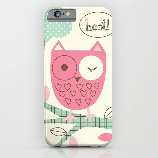 Hooty Owl iPhone & iPod Case