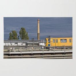 Yellow Train - Berlin Rug