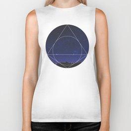 Magical Universe - Geometric Photographic Biker Tank