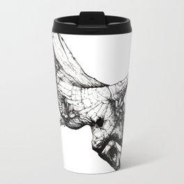 Jurassic Bloom - The Horned. Travel Mug