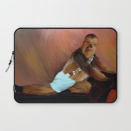 Chewbacca and the Timeless Art of Seduction Laptop Sleeve