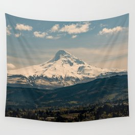 Mountain Valley Pacific Northwest - Nature Photography Wall Tapestry