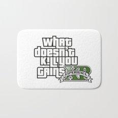 What Doesn't Kill You Gains XP Bath Mat