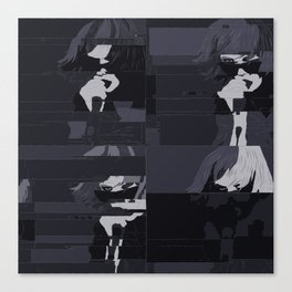Alice Glass / Crystal Castles Canvas Print