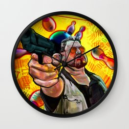 Art Print: Mark It Zero Wall Clock