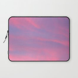 Sky-Blue Pink Laptop Sleeve