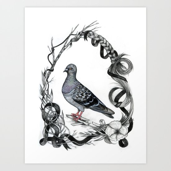 """Natural"" Habitat Art Print"