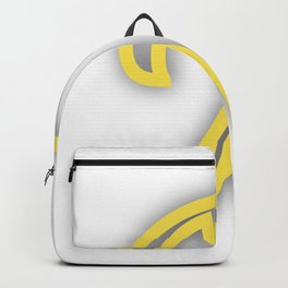 Letter X in Yellow Backpack