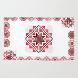 traditional icon pixel Rug
