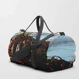 Sea Grass on the Beach Duffle Bag