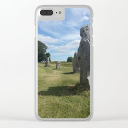 Inside the Circle Clear iPhone Case
