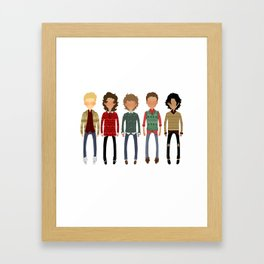Christmas Sweaters Framed Art Print
