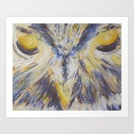 Owl -Dream Guardian Art Print