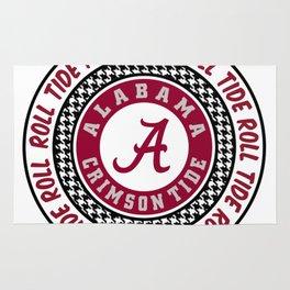 Alabama University Roll Tide Crimson Tide Rug
