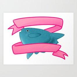 Mola Mola (blank) Art Print