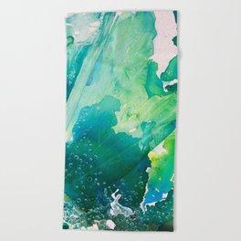 Environmental Importance, Deep Sea Water Bubbles Beach Towel