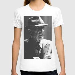 Leonard Cohen concert photo T-shirt