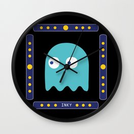 Inky is hungry! Wall Clock