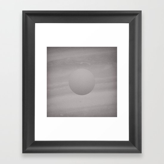 Voyage to the Moon Framed Art Print