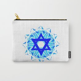 Jewish Star Carry-All Pouch