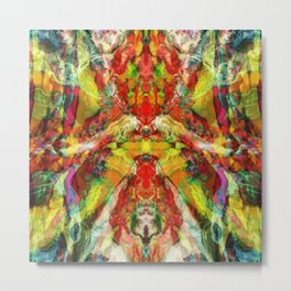 The warm hypnosis Metal Print