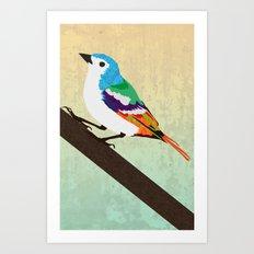 Bird is the Word Art Print