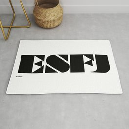 Type Type for ESFJ Rug