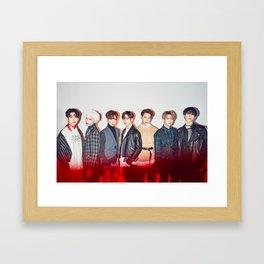 GOT7 Never Ever Poster Framed Art Print