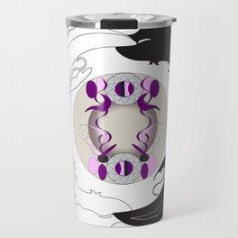 Yin and Yang (with ornamentation) Travel Mug
