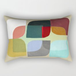 Color Overlay Rectangular Pillow