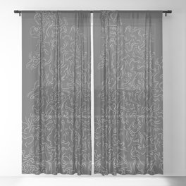 I'm So Tired Sheer Curtain