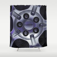 ford Shower Curtains featuring Ford GT by Hannah Korte